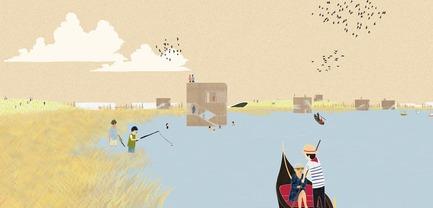 Dossier de presse | 2647-02 - Communiqué de presse | Concours international d'idéesRêvons nos rivières : trois lauréats au concours pour quatre rivières - Ville de Québec - Design urbain -  Troisième prix -Secteur du parc Linéaire - Crédit photo : L'équipe JOO HYUNG OH