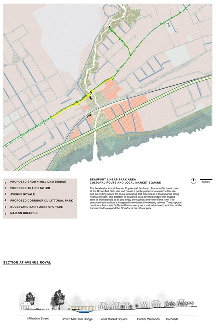 Press kit | 2647-02 - Press release | International Ideas Competition Reinventing Our Rivers: Four Rivers, Three Winners - Ville de Québec - Urban Design - First place - River Beauport Area of Interest - Photo credit: The CADASTER team