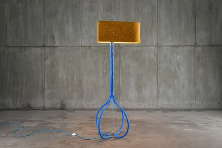 Press kit | 3029-01 - Press release | Designer Troy Smith Embodies the Spirit of Autotelic Art - Troy Smith Designs - Product - Constellation Floor Lamp - Photo credit: Troy Smith