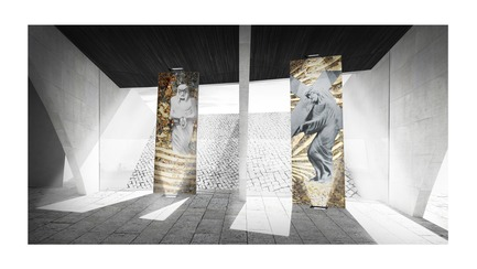Press kit   3036-01 - Press release   Our Lady of The Fields - Stanislas Chaillou - Institutional Architecture - Stations XII & XIII - Photo credit: Stanislas Chaillou