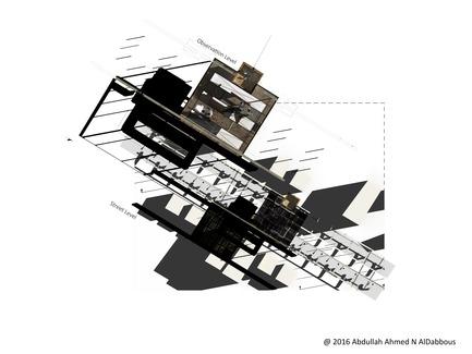 Dossier de presse | 3038-01 - Communiqué de presse | Revolution 4.0 - Abdullah Ahmed N Al Dabbous - Design urbain - Plan - Crédit photo : Abdullah AlDabbous
