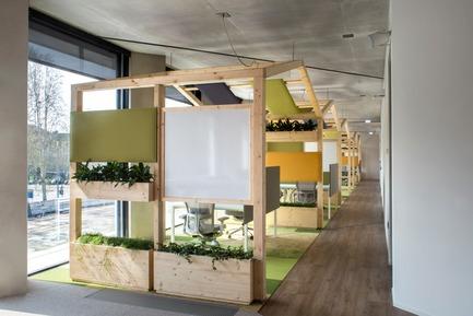 Dossier de presse | 3031-01 - Communiqué de presse | Microsoft House - DEGW/Lombardini22 - Commercial Architecture - Creative Garden - Crédit photo : Dario Tettamanzi