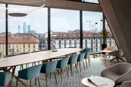 Dossier de presse | 3031-01 - Communiqué de presse | Microsoft House - DEGW/Lombardini22 - Commercial Architecture - The Loft - Crédit photo : Dario Tettamanzi