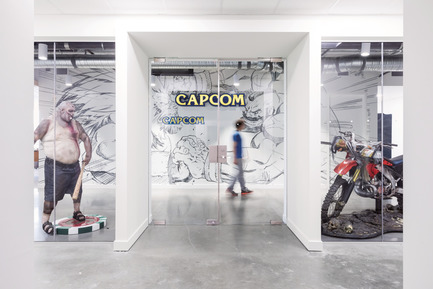 Dossier de presse | 2073-10 - Communiqué de presse | DIALOG Designs 'CapCalm', a Zen Office Space for Capcom's Vancouver Head Quarters - DIALOG - Design d'intérieur commercial - Capcom Vancouver. Design by DIALOG. - Crédit photo : Ema Peter Photography