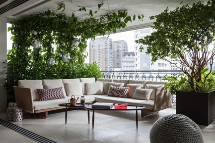 Press kit | 3039-01 - Press release | AQHApartment - Coletivo Arquitetos - Residential Interior Design - Terrace  - Photo credit: RuiTeixeira