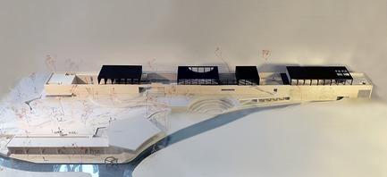 Press kit | 3044-01 - Press release | Sanbaopeng Art Museum - DL Atelier - Institutional Architecture - model - Photo credit: DL Atelier