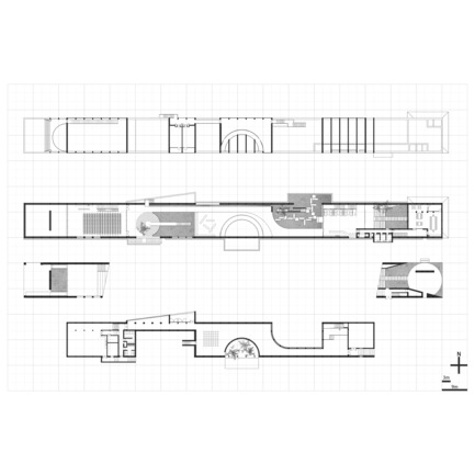 Press kit | 3044-01 - Press release | Sanbaopeng Art Museum - DL Atelier - Institutional Architecture - plan - Photo credit: DL Atelier