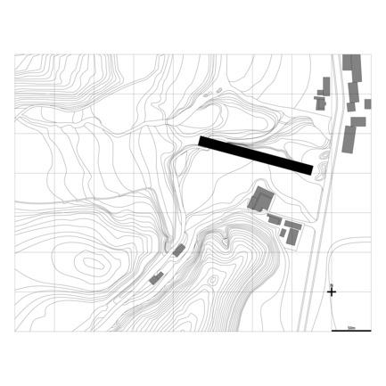 Dossier de presse | 3044-01 - Communiqué de presse | Sanbaopeng Art Museum - DL Atelier - Institutional Architecture - site plan - Crédit photo : DL Atelier