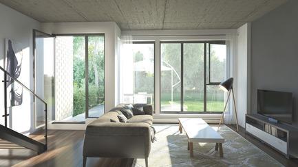 Press kit | 3070-01 - Press release | DevMcGill et TGTA remportent un prestigieux Prix INOVA décerné par l'IDU pour leur projet Le Castelnau - DevMcGill - Architecture résidentielle - Condo - Photo credit: DevMcGill