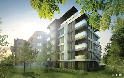 Dossier de presse | 3070-01 - Communiqué de presse | DevMcGill et TGTA remportent un prestigieux Prix INOVA décerné par l'IDU pour leur projet Le Castelnau - DevMcGill - Architecture résidentielle - Phase 3 - Crédit photo : DevMcGill