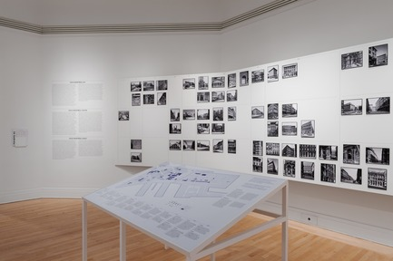 "Press kit | 756-18 - Press release | The CCA Presents ""Greystone: Tools for Understanding the City"". - Canadian Centre for Architecture (CCA) - Event + Exhibition - Greystone: Tools for Understanding the City. Installation view, 2017.  - Photo credit: CCA, Montréal."