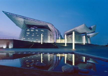 Press kit | 1071-01 - Press release | Architizer A+ Awards winners announced - Architizer - Competition -  Wuxi Grand Theatre - PES-Architects  - Photo credit: Architizer