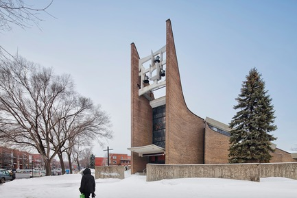 Dossier de presse | 865-29 - Communiqué de presse | A Tribute to Lemay's Visionary Founding Architect - Lemay - Commercial Architecture - Church of Saint-Jean-Baptiste-de-la-Salle - Lemay - Montréal, Québec, Canada, 1967 - Crédit photo : Alexandre Guilbeault