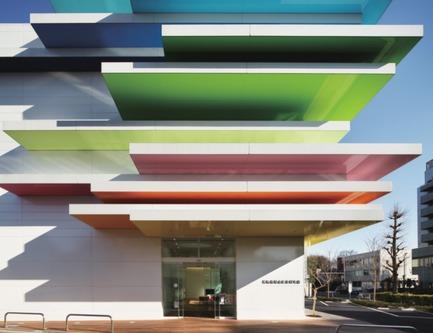 Press kit | 1071-01 - Press release | Architizer A+ Awards winners announced - Architizer - Competition - Sugamo Shinkin Bank / Shimura Branch -Emmanuelle Moureaux - Photo credit: Architizer