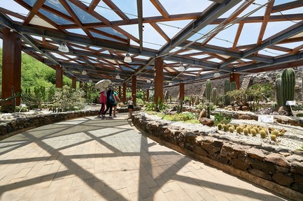 Dossier de presse | 3092-01 - Communiqué de presse | Cactus Park in Taiwan Draws Architectural Inspiration from Prickly Succulents - CCL Architects & Planners - Landscape Architecture - Basaltic-based greenhouse - Crédit photo : CCL Architects & Planners
