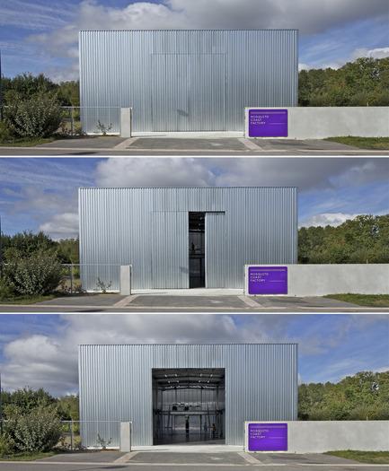 Dossier de presse | 1068-01 - Communiqué de presse | Mosquito Coast Factory - Tolila+Gilliland - Architecture industrielle - Crédit photo : Philippe Ruault