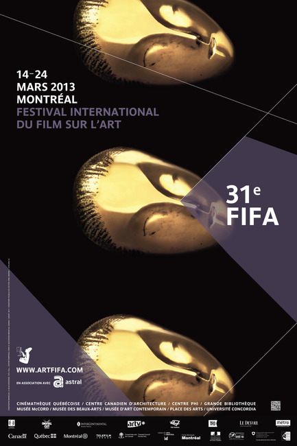 Dossier de presse | 887-02 - Communiqué de presse | 31st International Festival of Films on Art! - International Festival of Films on Art (FIFA) - Event + Exhibition - Crédit photo : FIFA