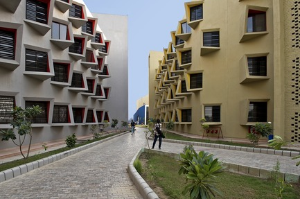 Press kit | 1432-03 - Press release | The Street - Sanjay Puri Architects - Institutional Architecture - Internal Streets - Photo credit: Dinesh Mehta
