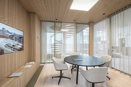 Dossier de presse | 2274-02 - Communiqué de presse | Telegraf 7 - BEHF Architects - Commercial Architecture - Meeting room <br><br>   - Crédit photo : Hertha Hurnaus