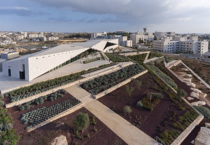 Dossier de presse | 661-42 - Communiqué de presse | World Architecture Festival 2017 - Day One Winners of International Architecture Awards Announced - World Architecture Festival (WAF) - Competition - Heneghan Peng Architects, The Palestinian Museum, Birzeit, Palestine - Crédit photo : Completed Buildings Culture