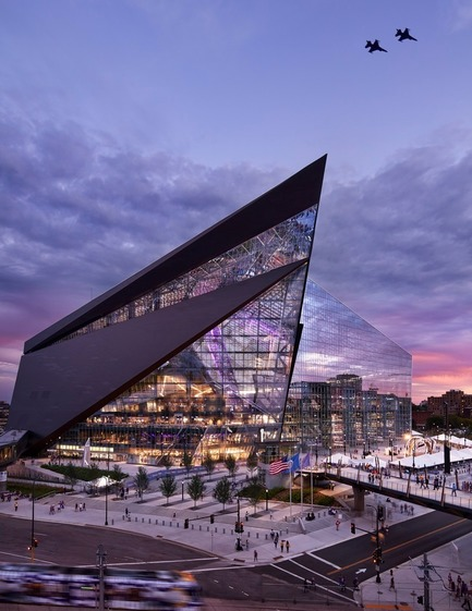 Press kit | 661-42 - Press release | World Architecture Festival 2017 - Day One Winners of International Architecture Awards Announced - World Architecture Festival (WAF) - Competition - HKS_U.S. Bank Stadium - Photo credit: Completed Buildings Sport