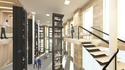 Dossier de presse | 3118-01 - Communiqué de presse | re_Forum: The Novel Bookstore - Try Andy - Commercial Architecture - View from Staircase - Crédit photo : Try Andy