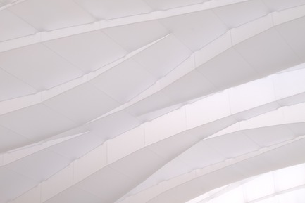 Press kit | 3072-01 - Press release | Light Arrival - Flynn Architecture & Design - Lighting Design - Detail, night, illuminated<br> - Photo credit: Matt Flynn