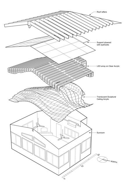 Press kit | 3072-01 - Press release | Light Arrival - Flynn Architecture & Design - Lighting Design - Axon - Photo credit: Matt Flynn