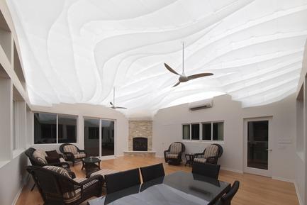 Press kit | 3072-01 - Press release | Light Arrival - Flynn Architecture & Design - Lighting Design - View southwest, night<br> - Photo credit: Matt Flynn