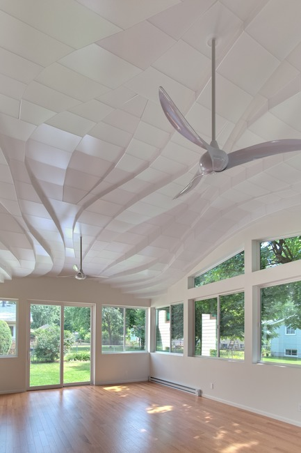 Press kit | 3072-01 - Press release | Light Arrival - Flynn Architecture & Design - Lighting Design - View northeast, summer morning<br> - Photo credit: Matt Flynn