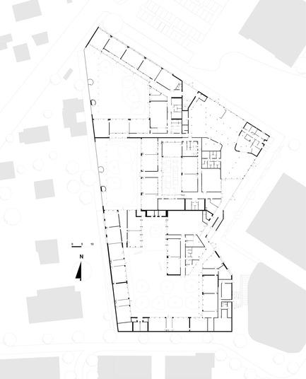 Press kit | 1065-01 - Press release | School complex Pasteur - r2k architectes - Institutional Architecture - Photo credit: r2k architectes