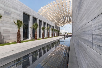 Press kit | 3073-01 - Press release | Sheikh Abdullah Al Salem Cultural Centre - SSH - Institutional Architecture - Sheikh Abdullah Al Salem Cultural Centre Exterior Shot - Photo credit: SSH