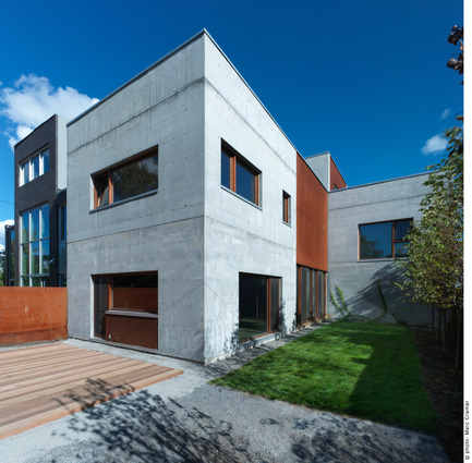 Press kit | 1062-01 - Press release | La Maison Beaumont - Henri Cleinge, architecte - Residential Architecture - Photo credit: Marc Cramer