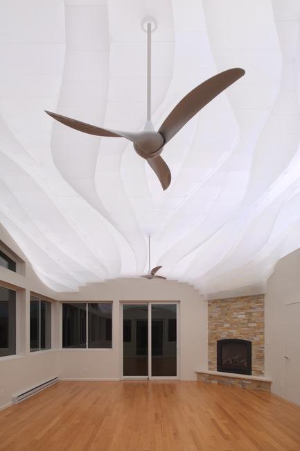 Press kit | 3072-01 - Press release | Light Arrival - Flynn Architecture & Design - Lighting Design - View south, night - Photo credit: Matt Flynn