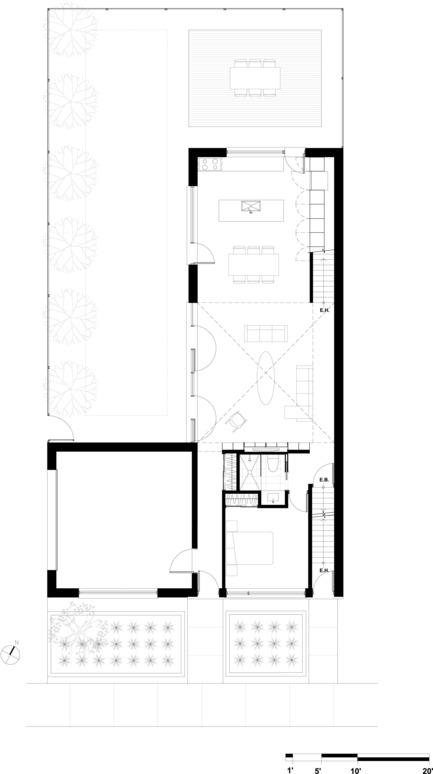 Press kit | 1062-01 - Press release | La Maison Beaumont - Henri Cleinge, architecte - Residential Architecture - Photo credit: Henri Cleinge, architecte