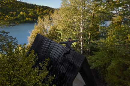 Press kit | 1010-08 - Press release | &lt; - Jean Verville architecte - Residential Architecture - &lt;<br>  - Photo credit:   Maxime Brouillet<br>