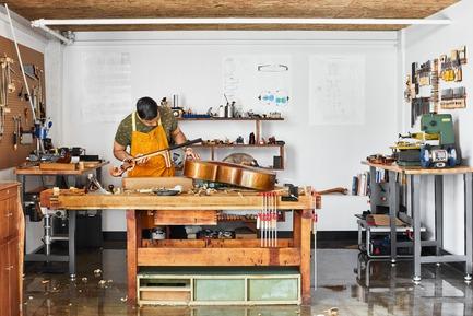 Press kit | 2624-02 - Press release | Un nouveau studio de son pour La Hacienda Creative - Newsam Construction + MXMA Architecture & Design - Design d'intérieur commercial - Photo credit: Annie Fafard