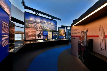 Press kit | 621-25 - Press release | Lightemotion Illuminates the Canadian Museum of History - Lightemotion - Lighting Design - Canadian Museum of History - Photo credit: Gordon King