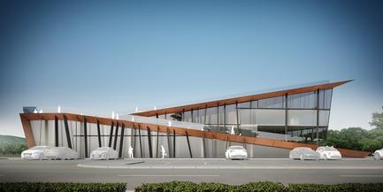 Press kit | 3146-01 - Press release | Architecture School - STARH - Institutional Architecture - Photo credit: Visualisation credits: Georgi Pasev
