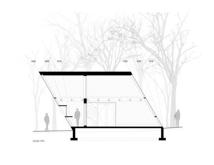 Press kit | 3142-01 - Press release | Mount-Royal Kiosks – Moved by the Landscape - Atelier Urban Face - Institutional Architecture - Photo credit: Atelier Urban Face
