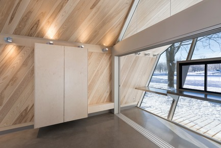 Press kit | 3142-01 - Press release | Mount-Royal Kiosks – Moved by the Landscape - Atelier Urban Face - Institutional Architecture - Photo credit: Fany Ducharme
