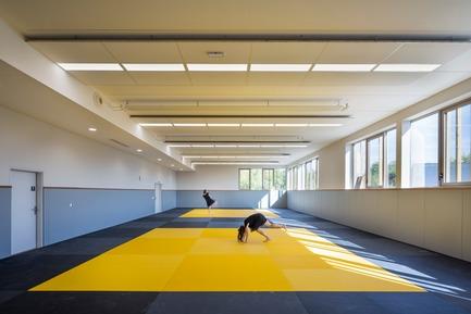 Dossier de presse | 3181-03 - Communiqué de presse | La Maison des Sports à Bezons - agence ENGASSER & associés - Architecture institutionnelle - Crédit photo :   Mathieu Ducros-Opictures