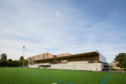 Press kit | 3181-03 - Press release | The House of Sports in Bezons - agence ENGASSER & associés - Institutional Architecture - Photo credit:   Mathieu Ducros-Opictures