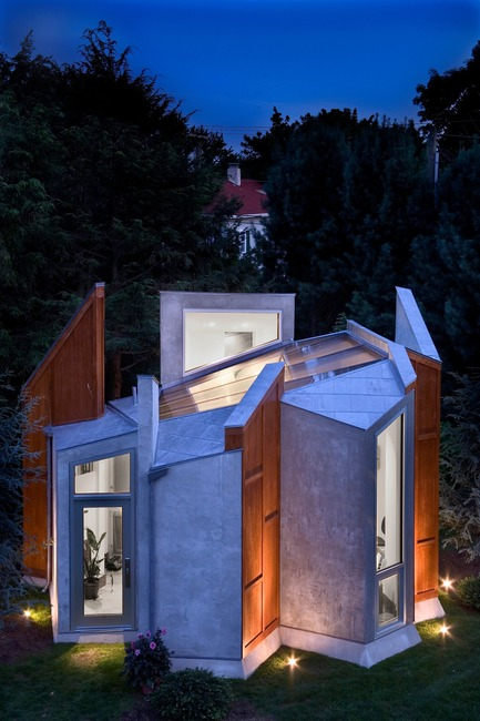 Dossier de presse | 3136-02 - Communiqué de presse | Butterfly Studio - Valerie Schweitzer Architects - Architecture résidentielle - Winner of the American Architecture Prize in small architecture, 2017 - Crédit photo : Tom Leighton