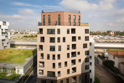 Press kit | 3181-02 - Press release | 104 Social Housing and Home Ownership in Ivry-sur-Seine - Engasser & associates agency - Residential Architecture - Photo credit: ©Mathieu Ducros