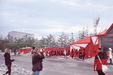 Press kit | 1303-06 - Press release | Sid Lee Architecture, Official Partner of the Canadian Olympic Committee - Sid Lee Architecture - Event + Exhibition - Canada Olympic House at the Olympic Winter Games PyeongChang 2018 - Photo credit: Canadian Olympic Committee & Sid Lee Architecture