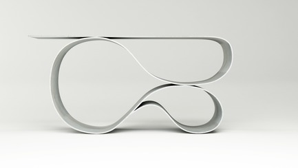 Press kit | 3182-01 - Press release | Whorl Console Wins 2017 Gray Award for Product Design - Neal Aronowitz Design - Industrial Design - Light and Lyrical<br><br> - Photo credit: Miroslav Trifonov