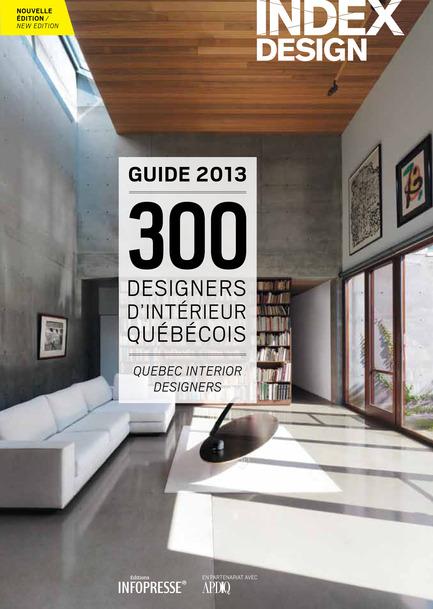 Press kit | 611-09 - Press release | Index-Design lance la quatrième édition du Guide des designers d'intérieur du Québec - Index-Design - Edition