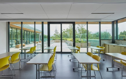 Press kit | 2681-01 - Press release | The Greenwood College School Expansion - Montgomery Sisam Architects Inc. - Institutional Architecture - Terrace Classroom - Photo credit: Shai Gil
