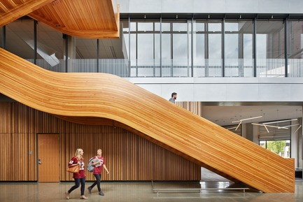Press kit   3178-01 - Press release   WSU University Center Expands Higher Education in North Puget Sound Region - SRG Partnership, Inc. - Institutional Architecture - Photo credit: Copyright 2017 Benjamin Benschneider All Rights Reserved